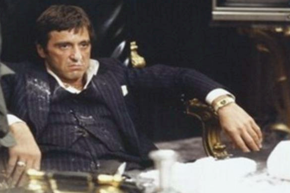 tony montana is not happy