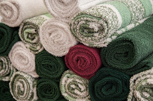 Towels fresh from dry cleaning